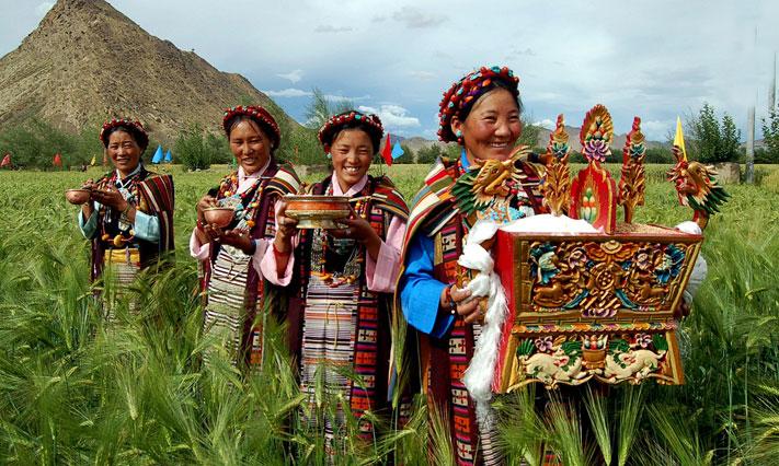 Despre inmormantarile tibetane